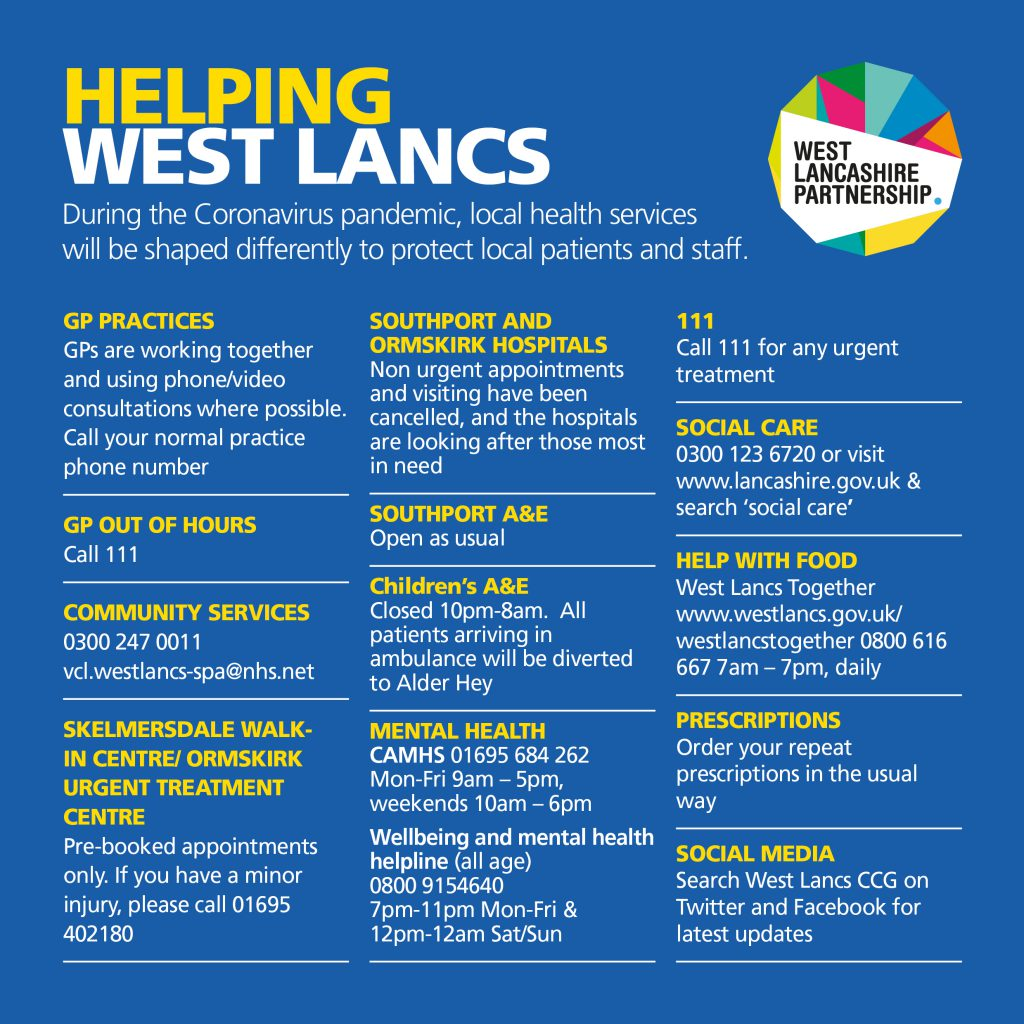 Helping West Lancs